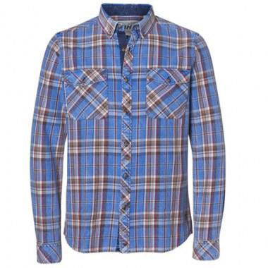 Camicia indigo Stihl
